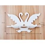 Laser Cut Swan Wall-Mounted Shelf Free Vector.cdr