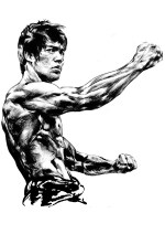 Bruce Lee Vector For Laser Engraving Free VectorBruce Lee Vector For Laser Engraving Free Vector