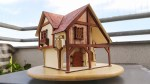 Laser Cut Forge House Plywood 4mm Free Vector
