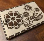 Laser Cut Gift Card Holder Template SVG File