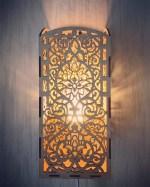 Laser Cut Carved Night Light Wall Light Lamp Free Vector