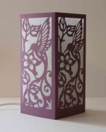 Laser Cut Bird Pattern For Lamp Nightlight SVG File
