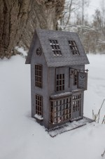 Laser Cut Flourish And Blotts Bookshop Harry Potter House Free Vector