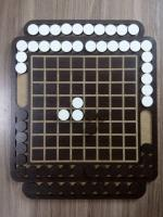 Laser Cut Reversi Board Game Free Vector