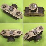 Laser Cut Wooden Camera Free Vector