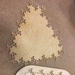Laser Cut Wooden Fractal Puzzle Jigsaw Puzzle SVG File
