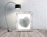 Laser Engraving Fingerprint Wall Art Free Vector