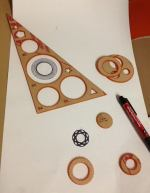Laser Cut Spirograph Drawing Toy DXF File