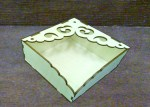 Laser Cut Wooden Tissue Paper Napkin Holder Free Vector
