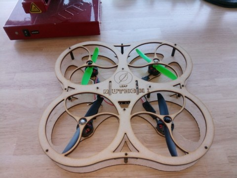 Laser Cut Drone Project Drawing File Free CNC patterns