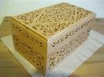 Decorative, Laser Cut,  Wooden, Box, 6mm ,Free Vector
