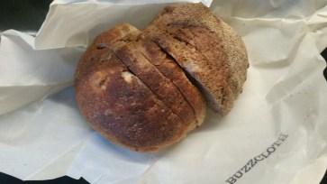 bread wrapped in buzzcloth still fresh