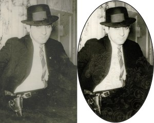 Photo restoration before/after