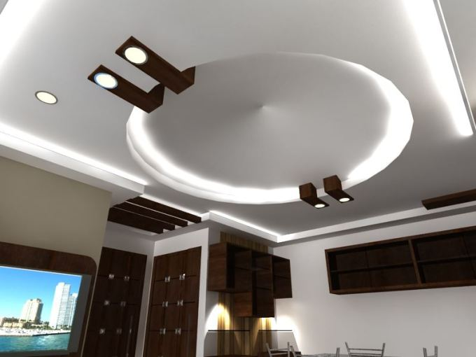 Pop Ceiling Design For Living Room In India ...
