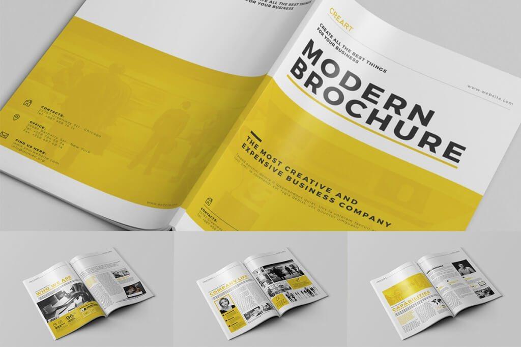 01 o 3 1024x682 - 70+ Modern Corporate Brochure Templates