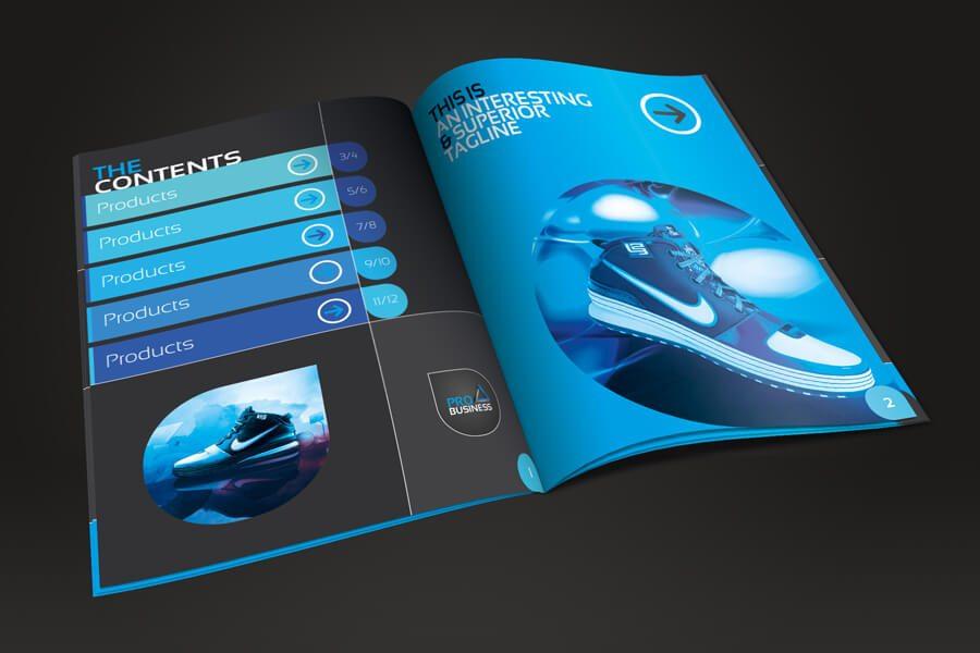 02 inside 2 3 o - 70+ Modern Corporate Brochure Templates