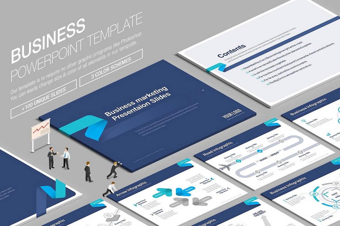 60+ Beautiful, Premium PowerPoint Presentation Templates 56