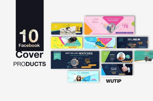 10 Facebook Product Cover Templates