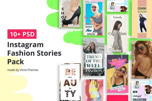 10 Fashion Instagram Story Templates