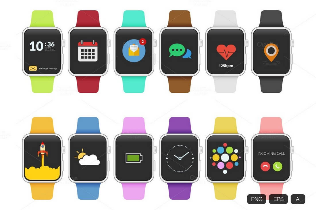 12-apple-watch-flat-design