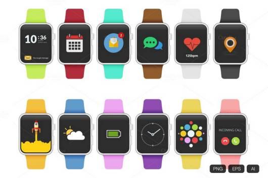 12-apple-watch-flat-design