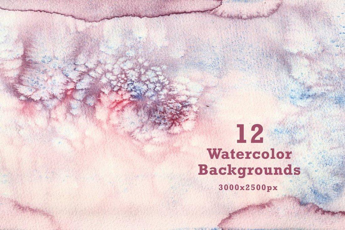20+ Best Watercolor Background Textures 44