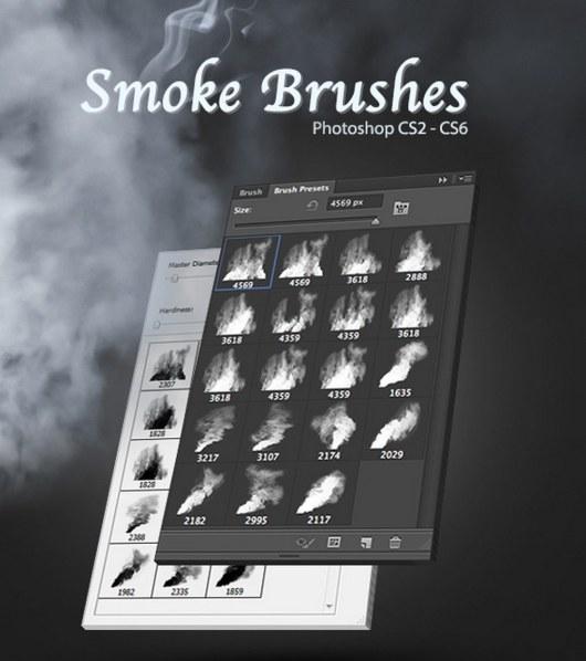 19 High-Quality Photoshop Smoke Brushes