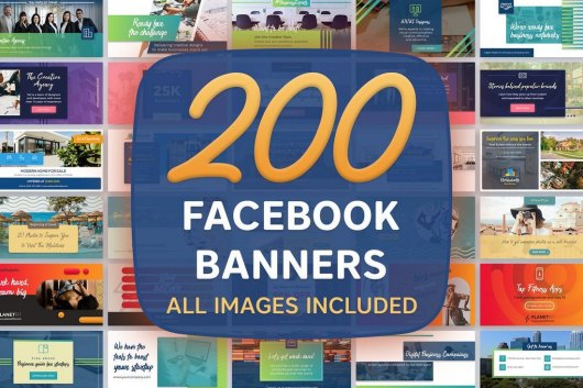 200 Facebook Banners Templates