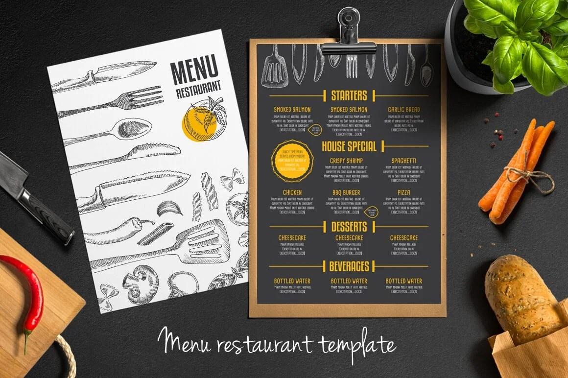 30 Food & Drink Menu Templates | Healthcare Web Design and ...