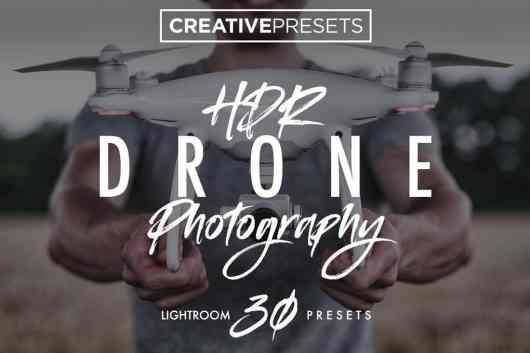 30 Drone HDR Lightroom Presets