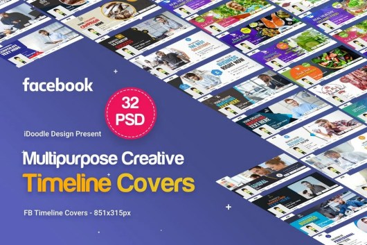 32 Multipurpose Facebook Timeline Covers