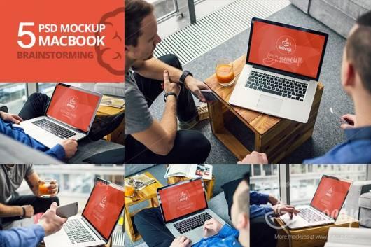 5-psd-mockup-macbook-brainstorming