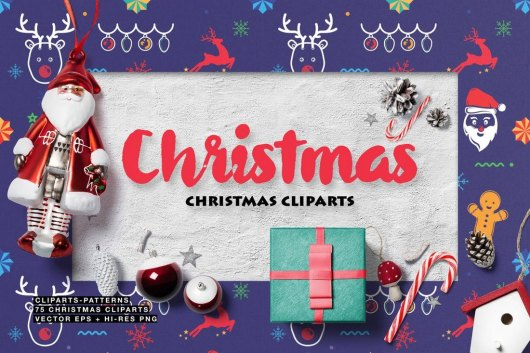 75 Christmas Cliparts
