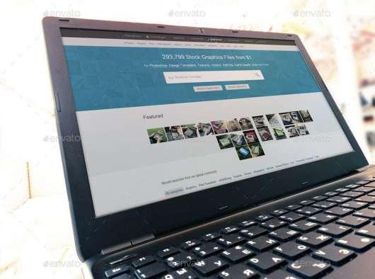 9 Windows Laptop Mockups