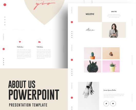 About Us - Free Powerpoint Presentation