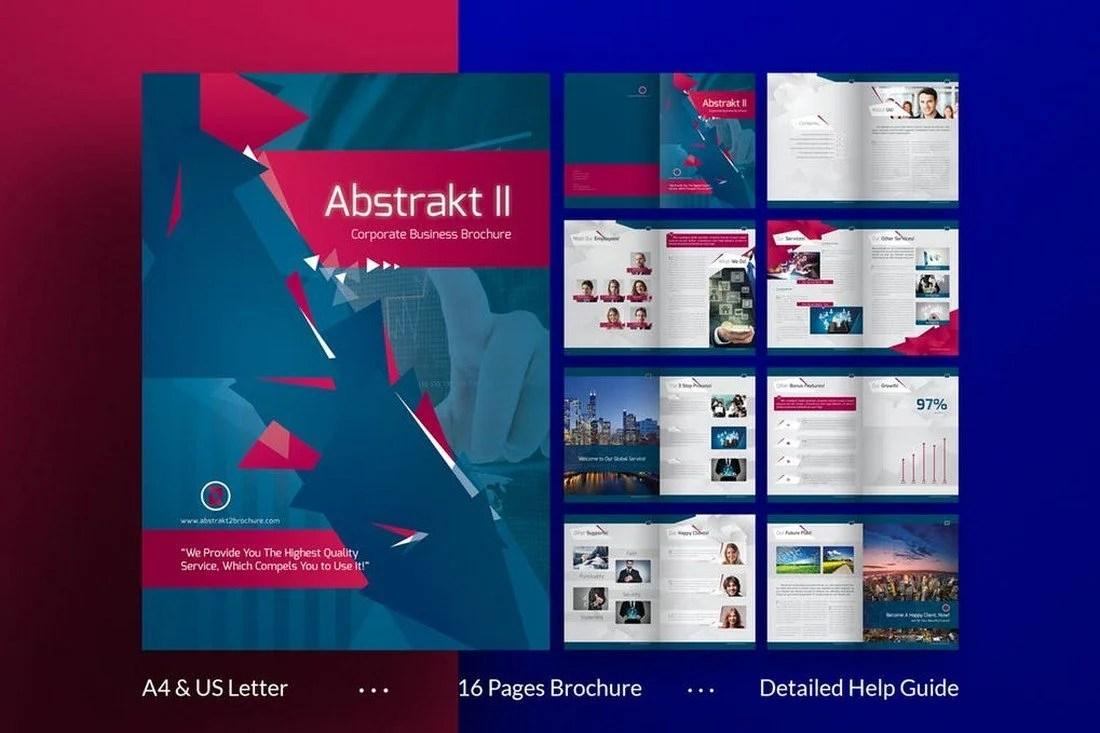 70+ Modern Corporate Brochure Templates 25