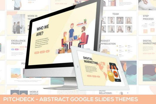 Abstract Pitchdeck - Google Slides Template