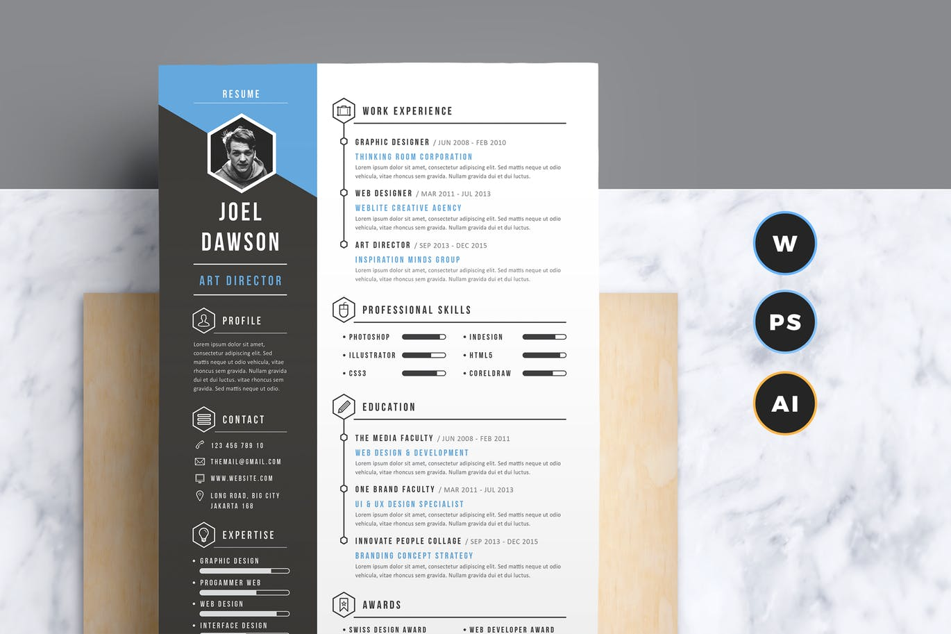 The Best CV & Resume Templates: 50 Examples 6