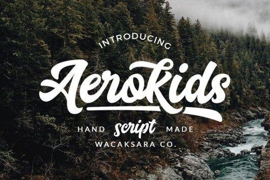 Aerokids Poster Font