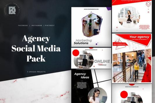 Agency Marketing Social Media Pack