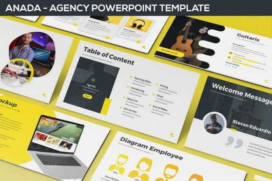 Anada - Agency Powerpoint Template
