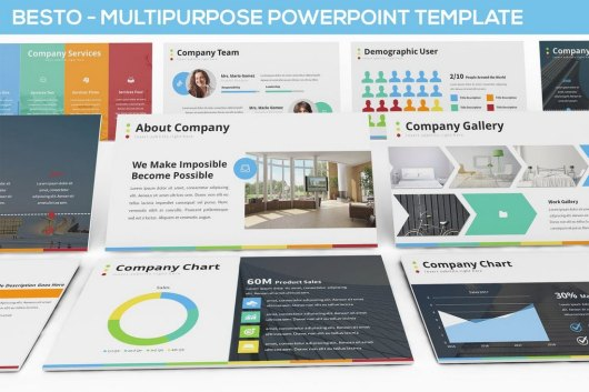 Besto - Multipurpose Powerpoint Template
