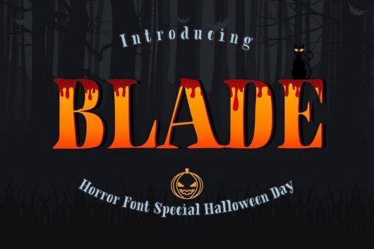 Blade - Slab Serif Font