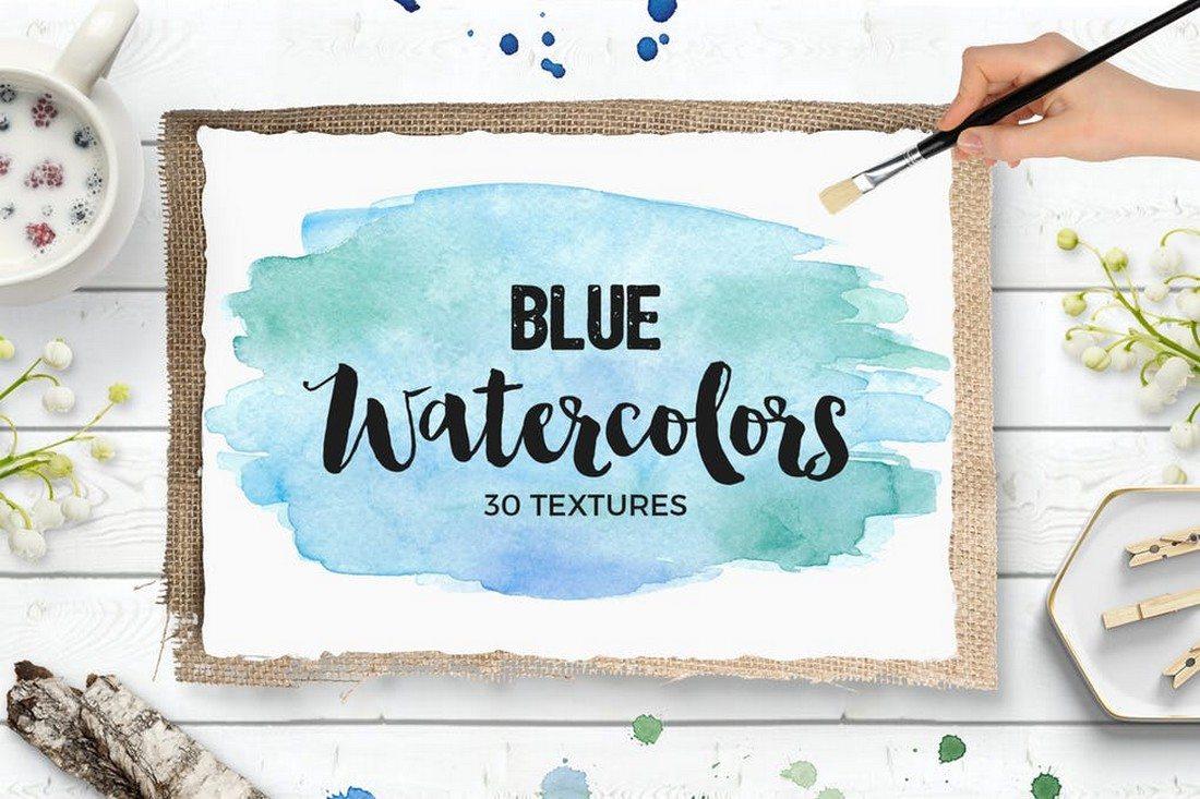 20+ Best Watercolor Background Textures 33