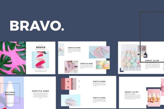Bravo - Clean Powerpoint Template