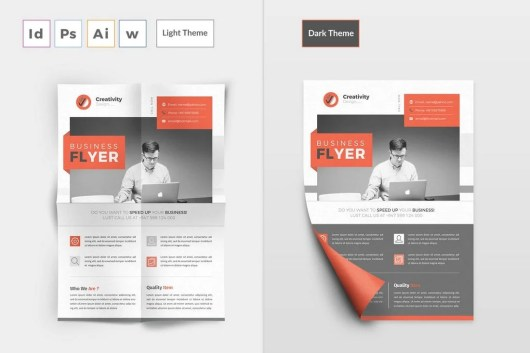 Business Flyer Word Brochure Template