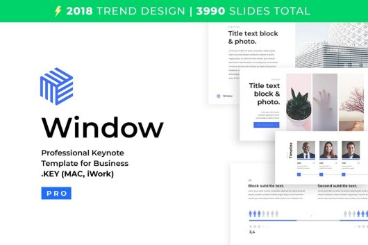 Business Keynote Template 2018
