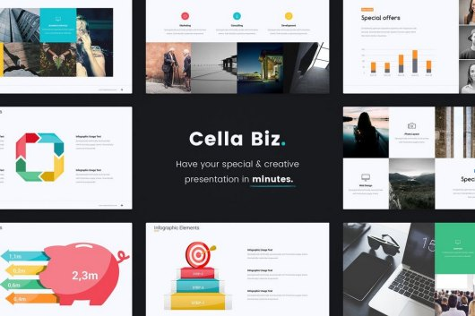 Cella PitchDeck Template