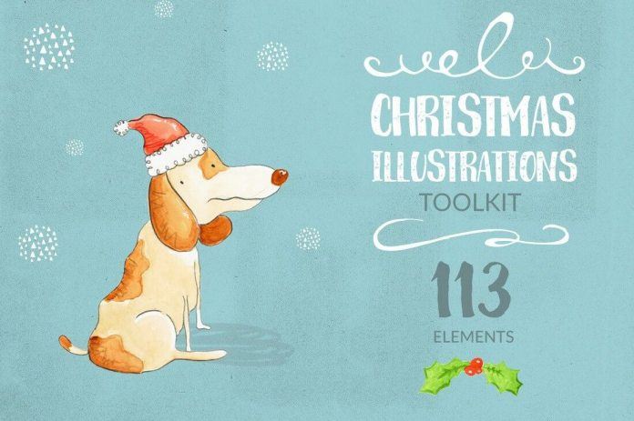 christmas-illustrations-toolkit