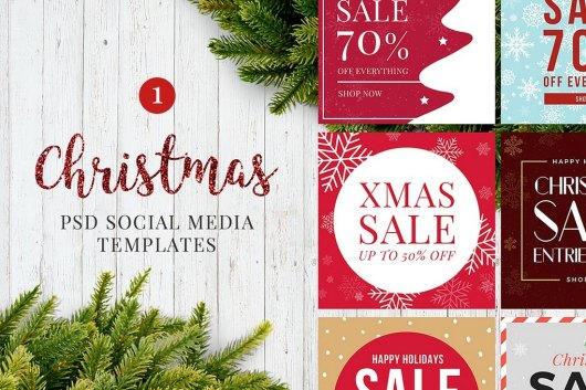 Christmas Social Media Posts